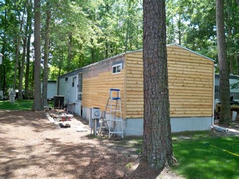 25 best ideas about mobile home siding on