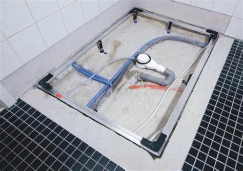 Piatto Doccia Filo Pavimento Esce Acqua by łatwy I Szybki Montaż Powierzchni Prysznicowej