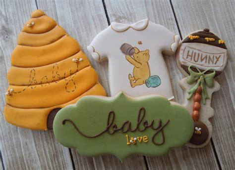 Winnie The Pooh Cookies classic winnie the pooh baby shower sugar cookies the iced sugar cookie