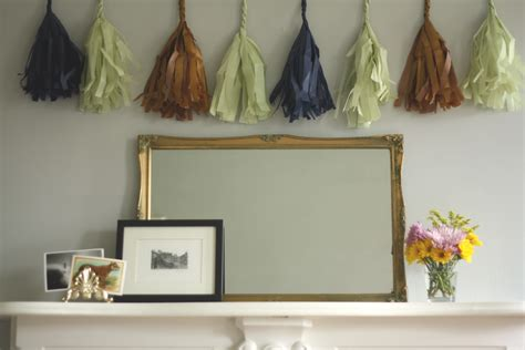 How To Make A Tissue Paper Tassel Garland - how to make a tissue paper tassel garland let s