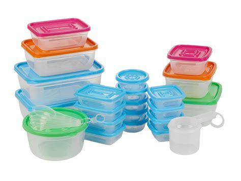 31 plastic food storage containers w lids set - Plastic Containers For Food Storage