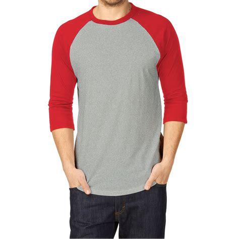 Bloseheidy Putih Abu Hitam Spandex kaosyes elevenia premium 100 cotton kaos polos t shirt raglan lengan 3 4 kaos raglan tshirt
