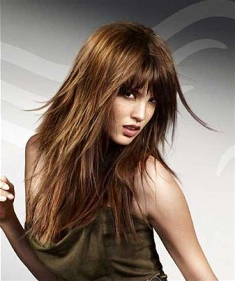 best 25 long layered haircuts ideas on pinterest 2018 popular long choppy layered haircuts with bangs