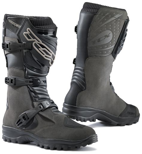 best motorcycle track boots tcx track evo wp boots revzilla