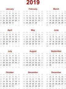 Calendar 2018 And 2019 Printable 2019 Calendar 2018 Calendar Printable