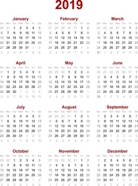 printable calendar for 2019 2019 calendar 2018 calendar printable