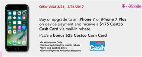 Gift Card With Purchase Of Iphone 7 - costco 200 costco gift card with iphone 7 purchase my dallas mommy