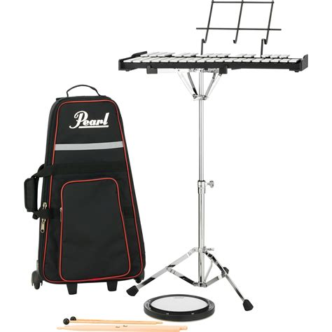 Kit Bell pearl student percussion bell kit with rolling bag pk910c