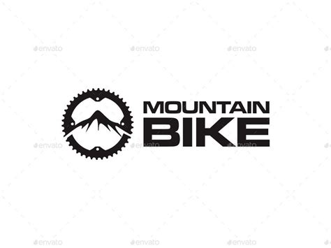 mountain bike logo by kmsdesen graphicriver