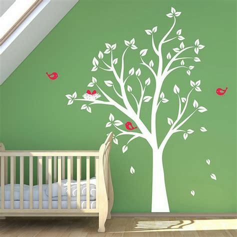 stickers arbre pour chambre bebe la d 233 coration murale chambre b 233 b 233 comment faire pour