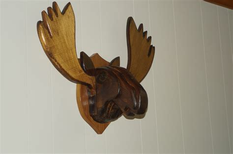 ana white moose head diy projects