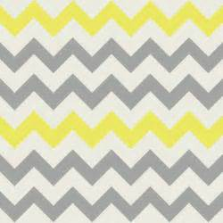 Grey and yellow chevron yellow grey chevron fabric by bluenini on