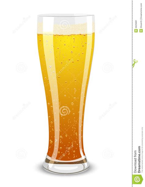 beer glass svg vector illustration of a beer glass stock image image