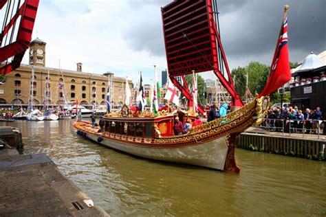 st katharine docks boat show 2017 gloriana now on display at st katharine docks motor boat