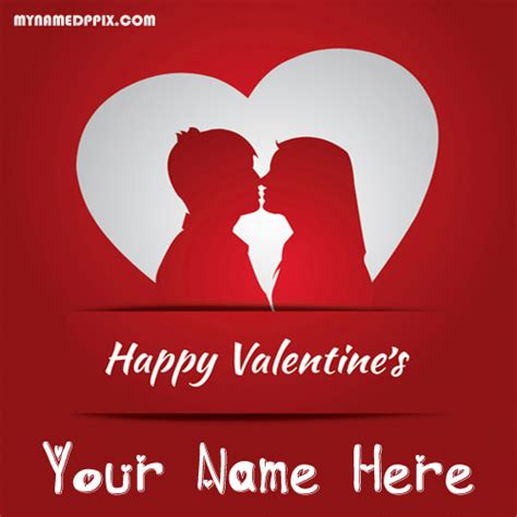 valentines day names write name 2018 happy valentines day greeting card