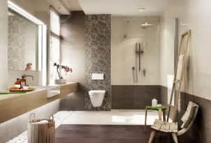 badezimmer braunfliesen badezimmer in beige modern gestalten tipps und ideen