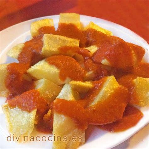 divina cocina recetas receta de patatas bravas patatas bravas divina cocina y