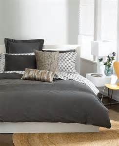 Grey Duvet Cover Bar Iii Bedding Garment Wash Grey King Duvet Cover