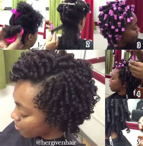 Set Hairstyles For Black Hair by Hairstyles Using Flexi Rods Hairstyles
