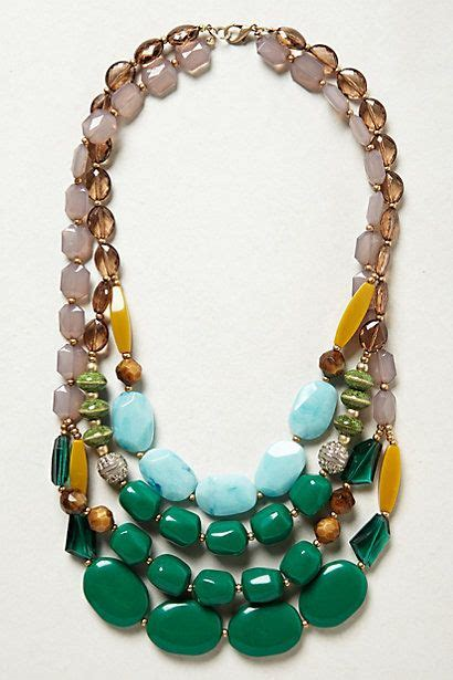 Anthropologie Discount Gift Card - viridian layer necklace anthropologie my style haves wants and wish list