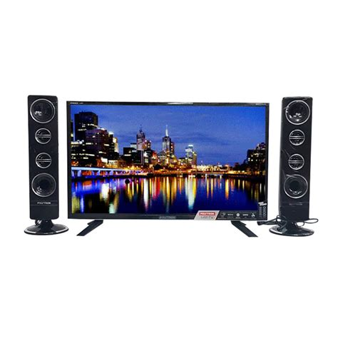Tv Led Polytron 32 Inch Cinemax Pld 32t710 jual polytron pld32t7511 tv led hitam tower cinemax 32