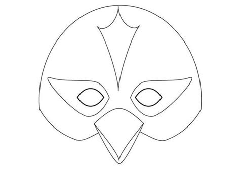 goose mask template bird mask template