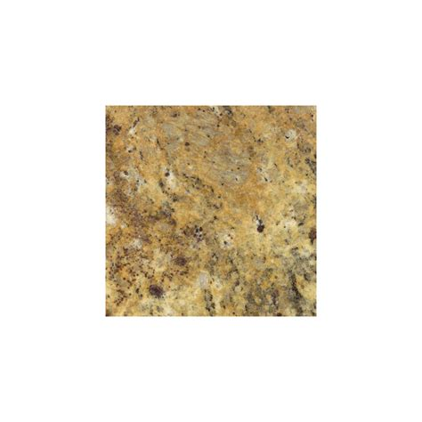 Lowes Granite Countertops Shop Sensa Santa Cecilia Granite Kitchen Countertop Sle