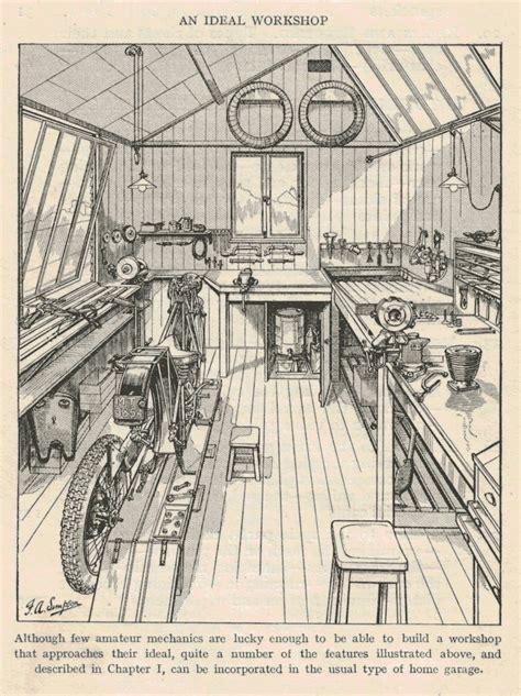 Designing A Garage Workshop oldtimer workshop blog