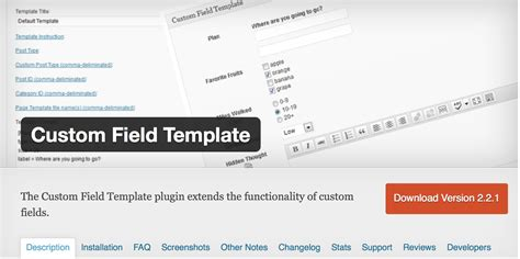 custom field templateを使ってみた ヒーリングソリューションズ