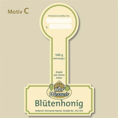 Honig Etiketten Selbstklebend by Honigetiketten Auflage 500 St 252 Ck H Buschhausen