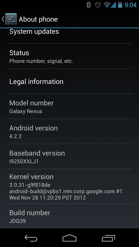 android february 2013 android 4 2 2 jdq39 for takju galaxy nexus now available to and manually install