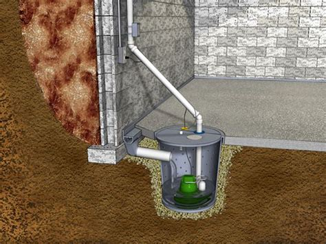 badger basement systems sump installation in milwaukee kenosha rockford il sump systems