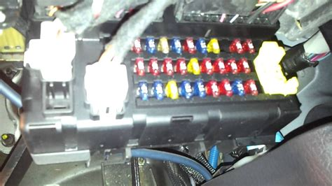 box jeep cherokee where is the fuse box in a grand cherokee 98 04under dash