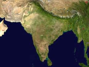 satellite map map of india satellite map worldofmaps net