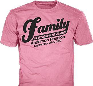 family reunion custom t shirts classb 174 custom t shirts