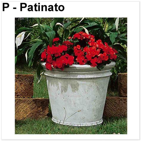 vasi da giardino in cemento vasi per esterno tondo 597tc871 fioriere da esterno