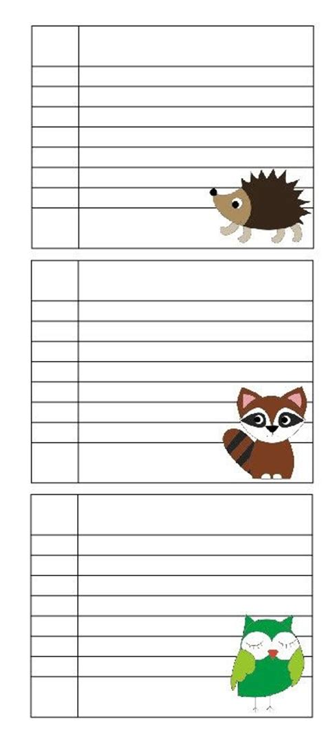 printable mini notebook paper 1000 images about lined cards on pinterest the wizard