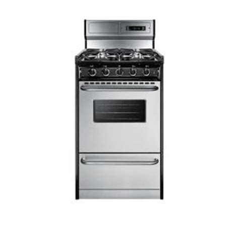 Apartment Size Stove Gas 20 In 2 46 Cu Ft Gas Range In Stainless Steel