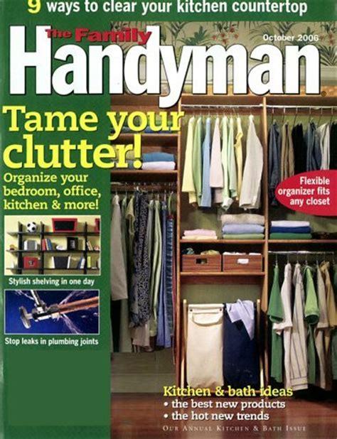 the family handyman subscription to the family handyman magazine for 4 99 87 simply frugal living