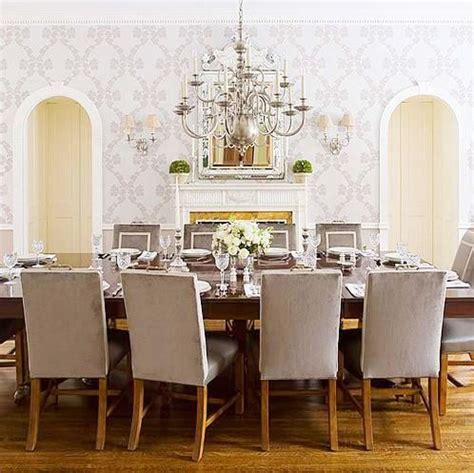 wallpaper dining room refresh your home tip 9 add wallpaper english