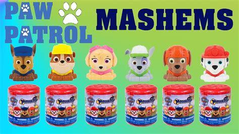 Squishy Paw Patrol Series 3 opening up paw patrol squishy mashems toys