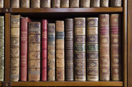 Wallpaper That Looks Like Books On A Shelf by Leather Bound Books On The Shelves In The Library At Hughenden Manor Buckinghamshire Home Of