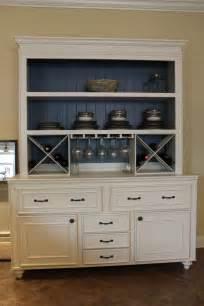 Kitchen Wine Cabinet Custom Built Buffet W Hutch Wine Rack China Cabinet
