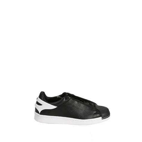 Y3 Shoes Black y3 yohji yamamoto shoes smooth leather in black for lyst