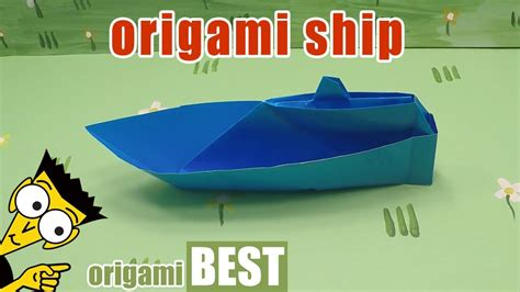 Origami Cruise Ship - origami ship how to make a boat origami best origami