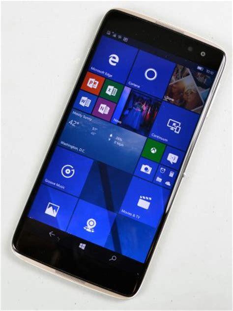 Hp Alcatel Idol alcatel idol 4s with windows 10 review