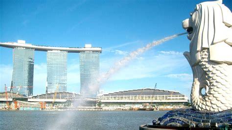 wallpaper merlion park singapore tourism destination