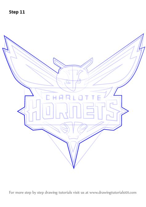 step  step   draw charlotte hornets logo