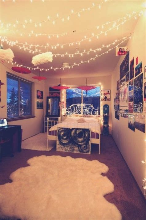 christmas lights in bedroom ideas top 17 teenage bedroom designs with light easy