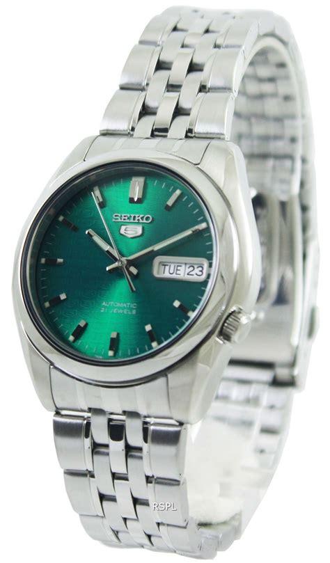 Seiko 5 Automatic 21 Jewels SNK543K1 SNK543K Mens Watch   ZetaWatches